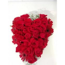 Cor roses vermelles St....