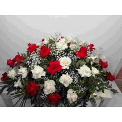 Cojín 40 rosas