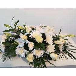 Coixi funerari roses i...