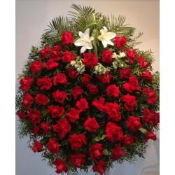 Corona de roses