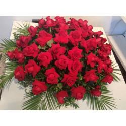 Centre funerari de 65 roses...